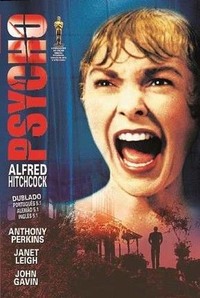 Psicose (1960) de Alfred Hitchcok foi estrelado por Anthony Perkins e Vera Miles. O filme custou U$800.00,00 e faturou U$60.000.000.