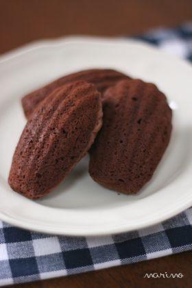 「ガトーショコラ風チョコマドレーヌ」marimo | お菓子・パンのレシピや作り方【corecle*コレクル】