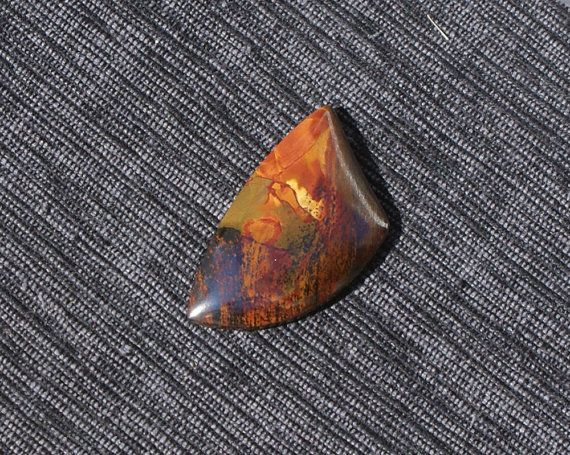 Freeform Marra Mamba Tiger Eye Cabochon by Mizteek on Etsy