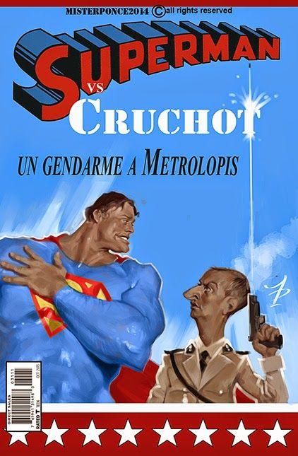 Superman vs Crucho