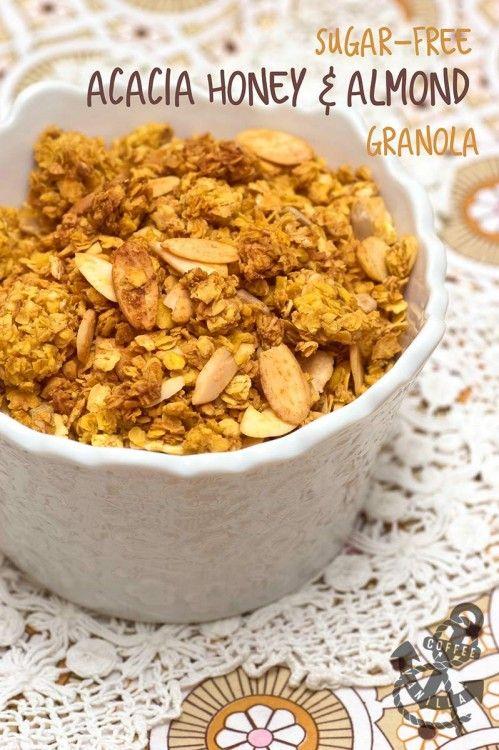 Sugar-free Acacia Honey & Almond Granola