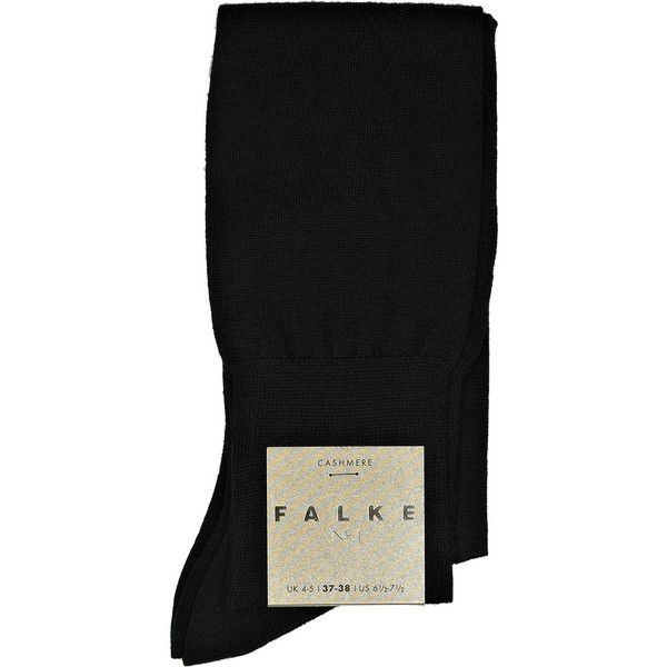 Falke Cashmere-blend knee-high sock (9.990 RUB) ❤ liked on Polyvore featuring intimates, hosiery, socks, accessories, tights, women, cashmere blend socks, knee socks, falke and falke socks