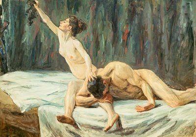 Samson and Delilah, Max Liebermann (1902).