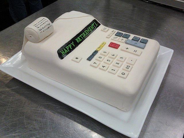 Accountant S Retirement Cake Cakes Retirement