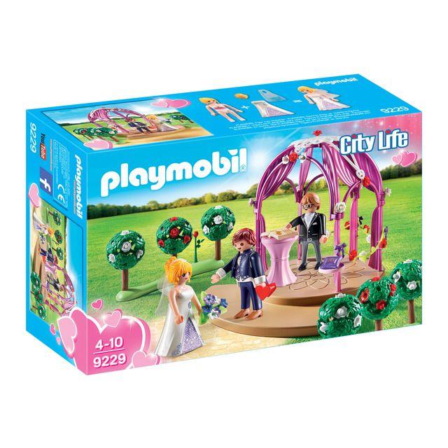 Playmobil Pabellon Nupcial Con Novios Playmobil City Life En