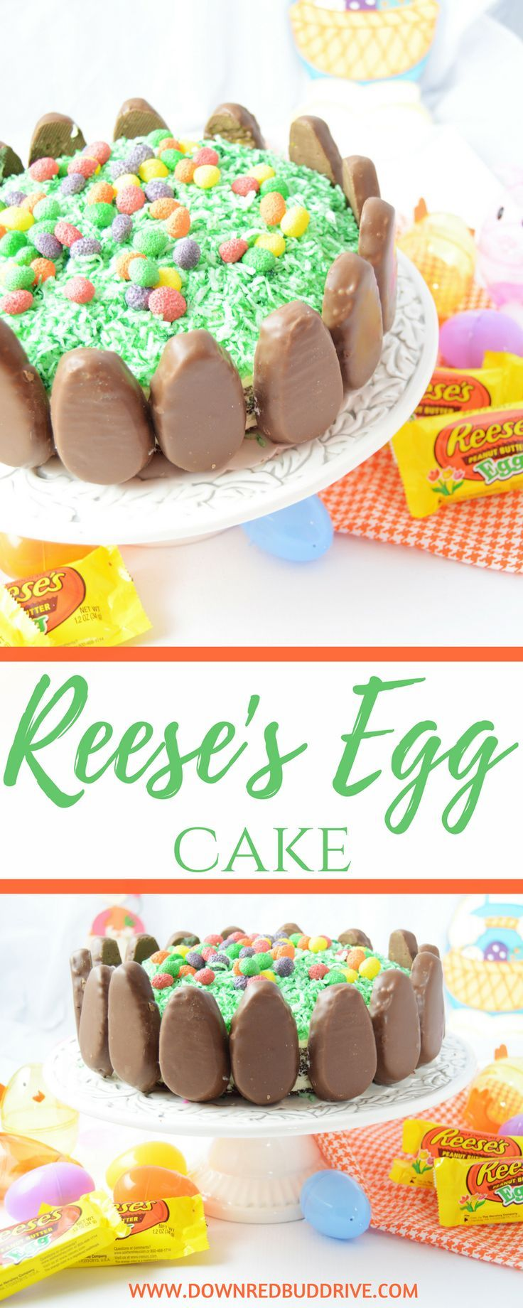 Reese S Egg Cake Recipe With Images Diy Easter Desserts