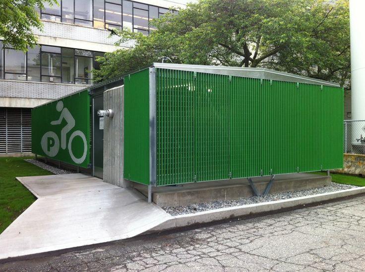 Carscadden Stokes McDonald Architects Architecture Bike Storage Vancouver Steel Pavilion