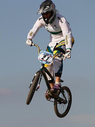 BMX star Lauren Reynolds earns selection for London Olympics