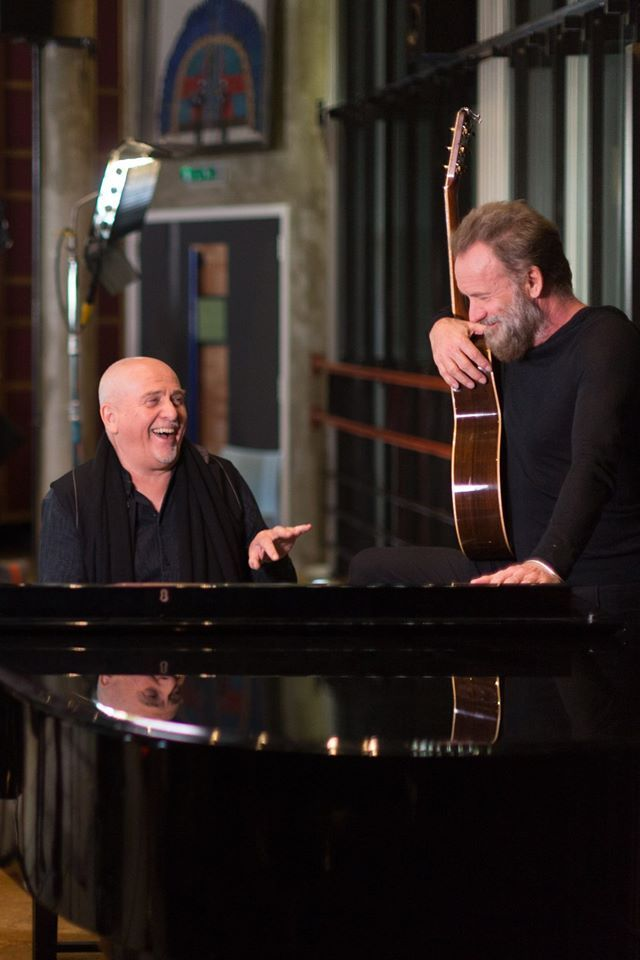 "Sting & Peter Gabriel To Hit The Road On ""Rock Paper Scissors Tour"""