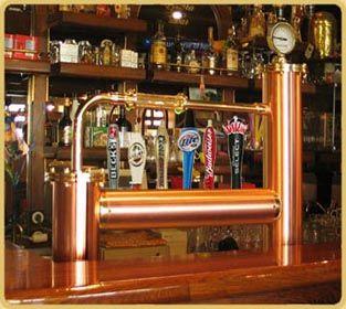 Frankfurt 6 Copper Draft Beer Tower