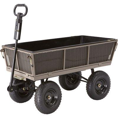 Gorilla Carts Dump Cart — 1200-Lb. Capacity, 5 Cu. Ft., Model# NTEMP14 $139 @ Northerntool