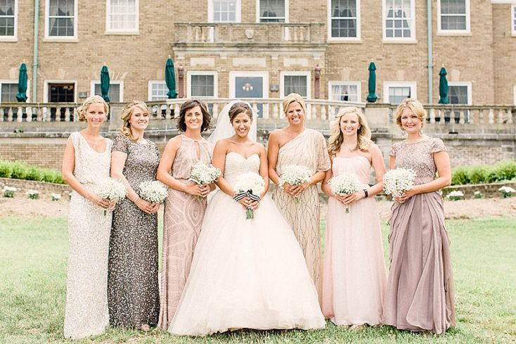 Romantic Felt Mansion Wedding by Bradley James » The Black Tie Bride #FeltMansion #wedding