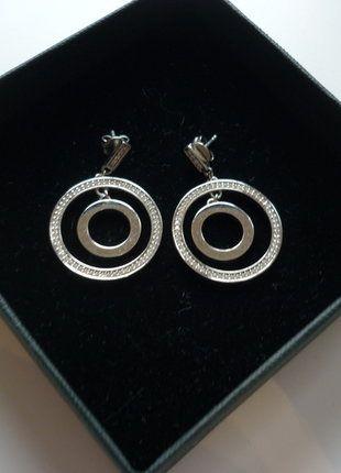 Kaufe meinen Artikel bei #Kleiderkreisel http://www.kleiderkreisel.de/accessoires/ohrringe/139573176-ohrringe-von-jette-joop-mit-swaroskikristallen