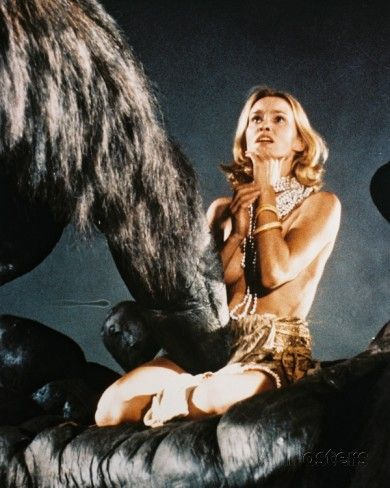 Jessica Lange, King Kong (1976) Photo                                                                                                                                                                                 Mais