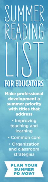 Take a cue from your summer assignments to students and create your own summer reading list—for professional development!