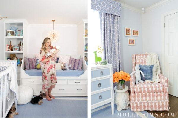 Molly Sims Nursery Designed by Layla Grayce