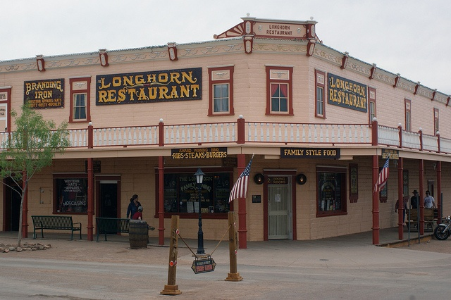 Longhorn Restaurant in Tombstone, Arizona by Fritz Liess, via Flickr