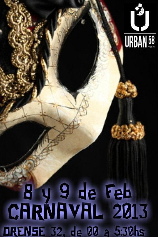 Carnaval en URBAN 58
