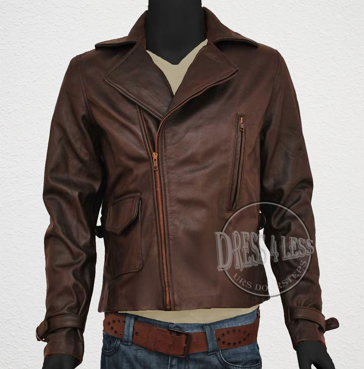 Captain America First Avenger Leather Jacket ALL SIZE AVAILABLE