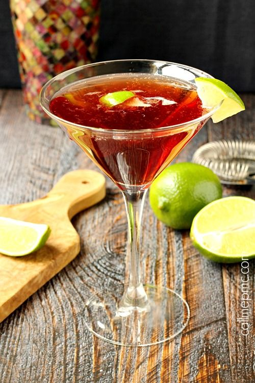 #Cocktail Inspiration : Gin Cosmopolitan 2 oz #Gvine #Gin Nouaison 1 oz Cointreau 1 oz Cranberry Pomegranate juice ½ oz fresh lime juice