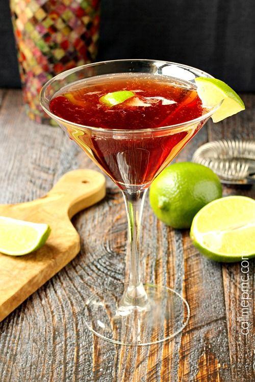 #Cocktail Inspiration : Gin Cosmopolitan 2 oz #Gvine #Gin Nouaison 1 oz Cointreau 1 oz Cranberry Pomegranate juice ½ oz fresh lime juice