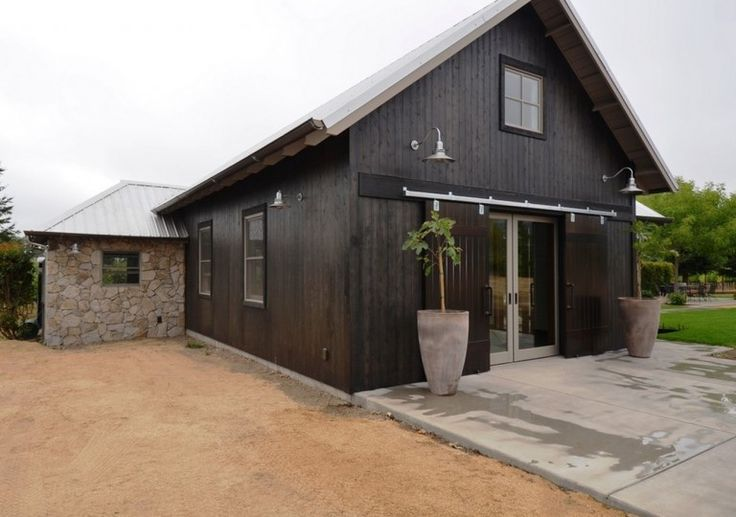 Classic Gooseneck Barn Lights for Boutique California Winery   Blog   BarnLightElectric.com