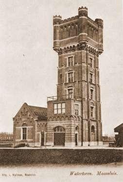 Watertoren in Maassluis,helaas is deze torenafgebroken