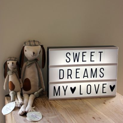 Lightbox van @ALittleLovelyCo in #hetlandvanooit #lightbox #decoration #alittlelovelycompany
