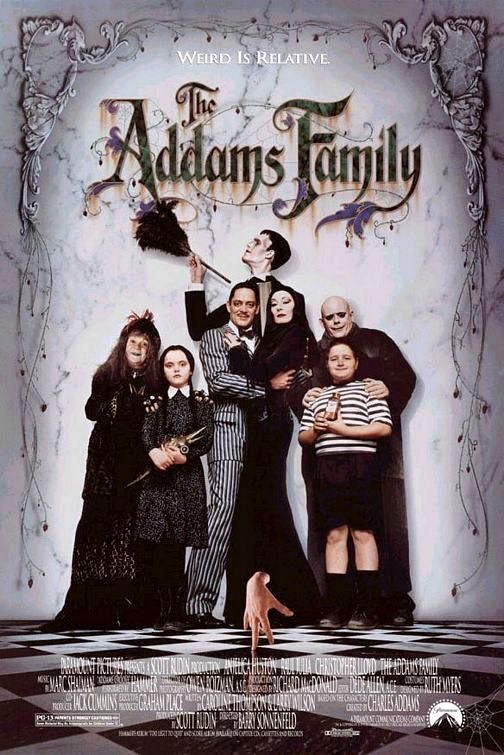 6th kids friendly Halloween movie. The Addams Family (1991) - Con artists plan to fleece the eccentric family using an accomplice who claims to be their long lost Uncle Fester.