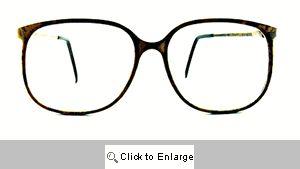 Bryce Clear Lens Wayfarers - 183 Brown Marble