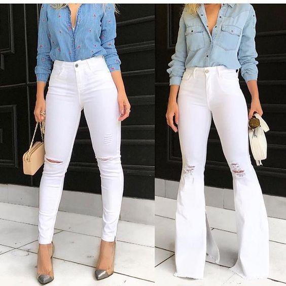 Pin De Yusara Nene En Como Vestirse Ropa De Moda Como Combinar Pantalon Blanco Ropa Juvenil De Moda