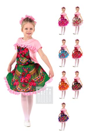 Фото Танец цветов - костюм для девочки