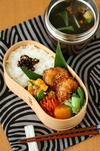 * Soup master Mozuku lunch + 1/18 *