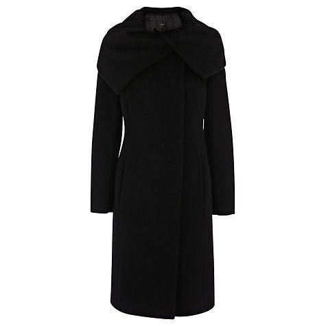 Buy Coast Luxe Coat, Black Online at johnlewis.com