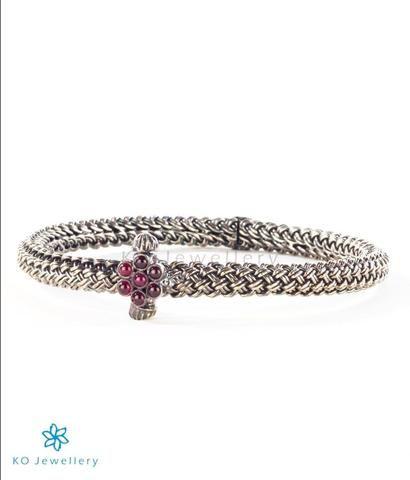 The Jivah Antique Silver Bracelet    #bangle #puresilver #silver #wedding #bridal #indian #ethnic #KOJewellery #bling #festive