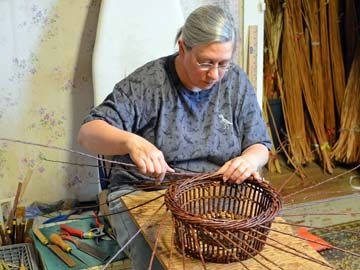 Dunbar Gardens Willow Baskets Handcrafted by Katherine Lewis