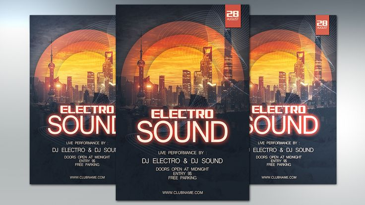 We'll go through the process of designing electro sound party flyer is ready for printing using Photoshop. This lesson is very easy and useful for beginners.