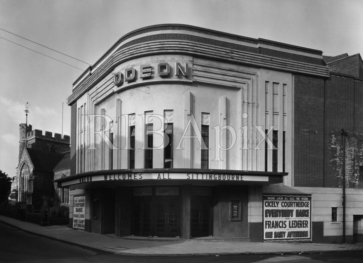 Sittingbourne cinema in 1937, when it first opened.