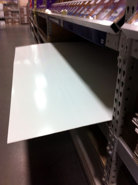 DIY White Boards - so CHEAP! - Buy a 4x8 panel board at home depot or Lowe's and have them cut it into 24 individual white boards for your classroom for about 15 dollars.