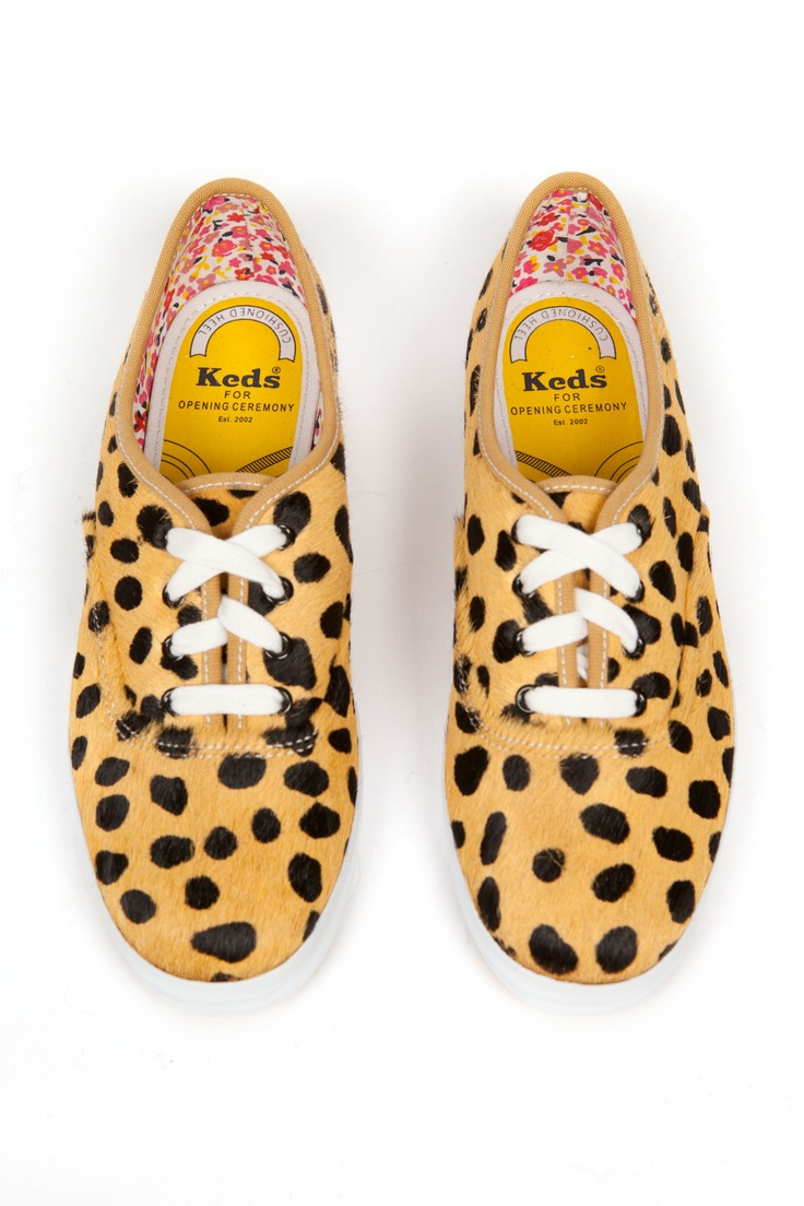 keds for opening ceremony.: Keds Champions, Fashion Shoes, Open Ceremony, Open Fashion, Cheetahs Keds, Shoes Women, Animal Prints, Ceremony Keds, Champions Shoes