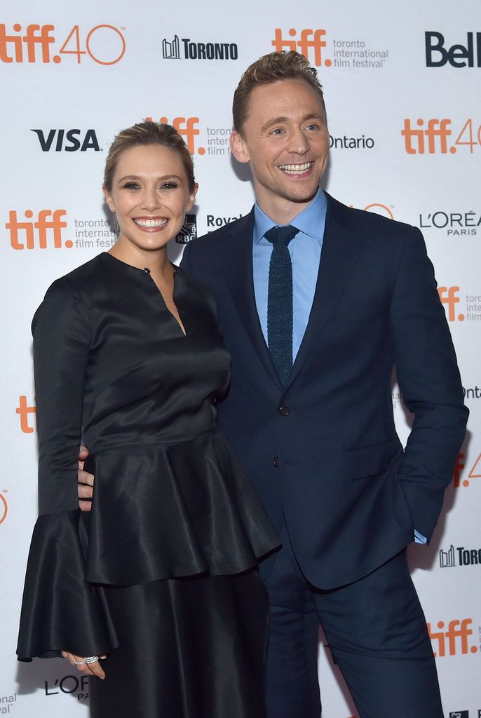 Elizabeth Olsen and Tom Hiddleston looked like more than friends at the Toronto International Film Festival