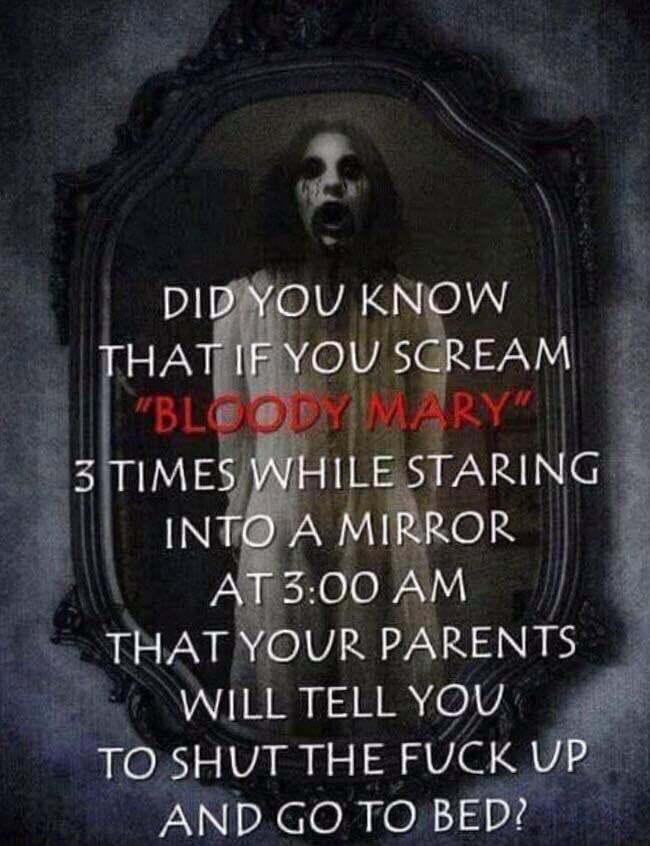 And scream fuck the world