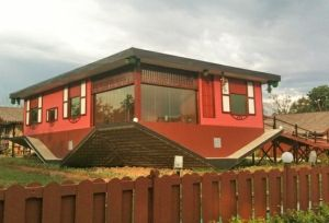 Did the contractor misunderstand the plans? This is Rumah Terbalik - a new upside-down house in Malaysia. by tanisha