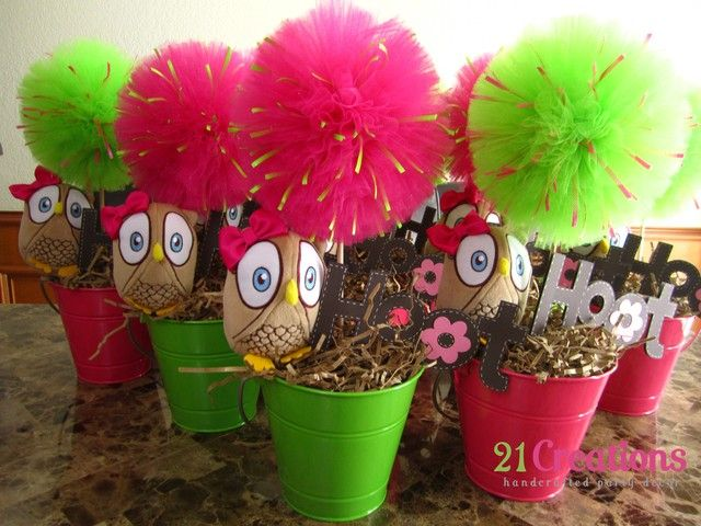 Owl Party Favors #owlparty #favors