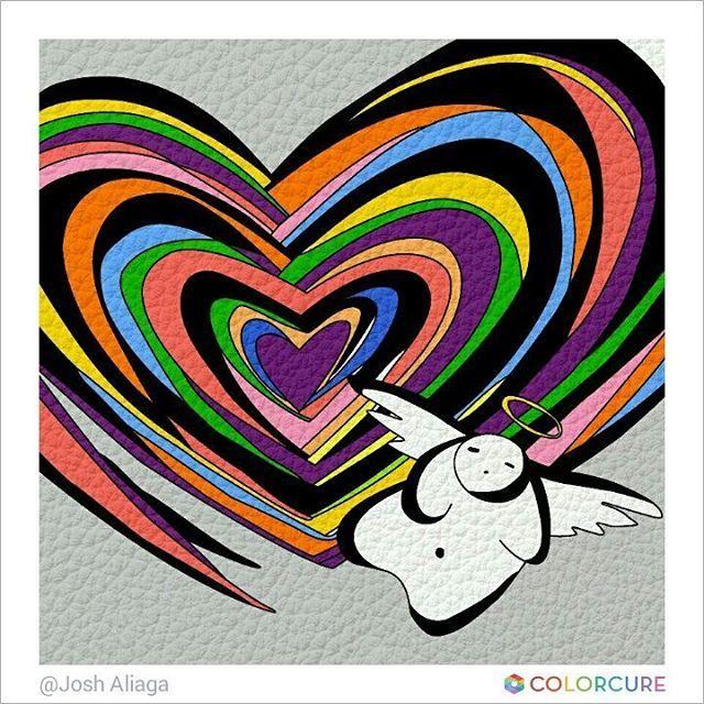 #marcelowong #peru #masterpiece#love #angel #wings #heart #feeling #cute #art #artwork #artist #colorful #beautiful #famous #colorcure #adultcoloring #coloringappforadults #화가 #색칠공부 #색칠놀이 #어른색칠 #색칠스타그램 #painting #sketch #coloreandoando #descubreelartistaquehayenti #coloreatumundo #instacolor #colorgram
