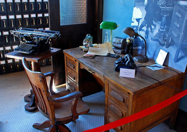 1920 S Furniture Railway Station Manager Office From 1940