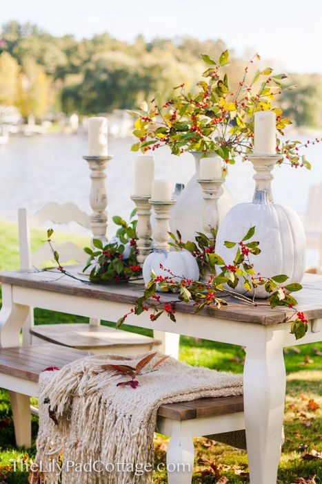 570 best fall / thanksgivingtablescapes images on pinterest