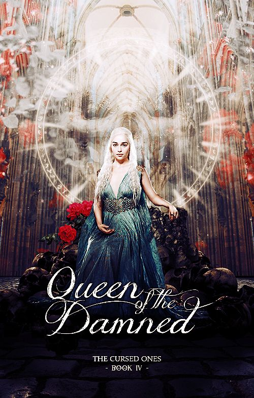 Cool Book Cover Queen : Queen of the damned fake book cover by stormyhale on