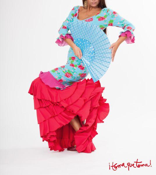 Flamencokleid von ¡toma que toma! auf www.tomaquetoma.de