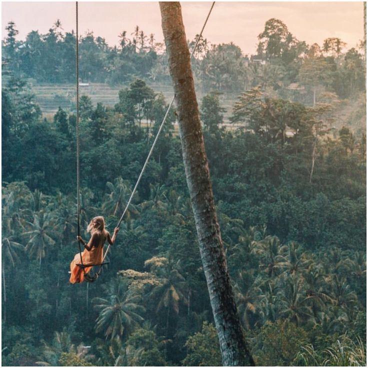 Swinging in the Jungle.. Ubud Bali. Bali travel photography. Bali photography, Ubud photography.